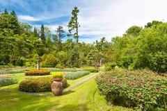 Jawny ogród willa Taranto w Włochy Obrazy Royalty Free