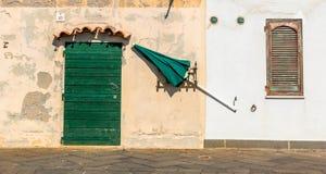 Jawny parasol Zdjęcie Royalty Free