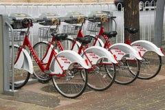 Jawny rowerowy wynajem Obraz Royalty Free