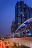 Jawny skywalk Zdjęcia Stock