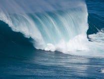 Jaws. Huge wave crashing on Maui coast Royalty Free Stock Image