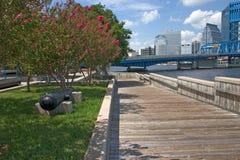 jaxriverwalk Arkivbilder