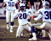 Jay Bellamy, Seattle Seahawks Royalty-vrije Stock Fotografie