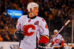 Jay Bouwmeester Calgary Flames Royalty Free Stock Image