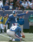 Jay Feely. New York Giants K Jay Feely.  (Image taken from color slide Royalty Free Stock Photos