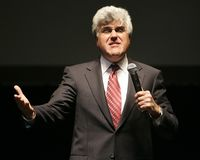 Jay Leno Performs Stand Up royalty free stock images
