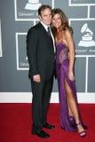 Jay Mohr, Nikki Cox Stock Images