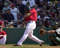 Jay Payton, Boston Red Sox. Royalty Free Stock Images