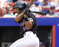 Jay Payton, New York Mets Στοκ εικόνες με δικαίωμα ελεύθερης χρήσης