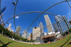Jay Pritsker Pavilion Chicago Stock Image