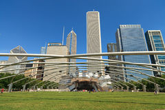 Jay Pritsker Pavilion Chicago Stock Photography