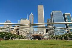 Jay Pritsker Pavilion Chicago Stock Photography