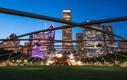 Jay Pritzger Pavilion, Chicago, Illinois foto de archivo libre de regalías