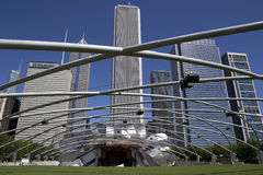 Jay Pritzker Pavilion Royalty Free Stock Images