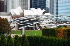 Jay Pritzker Pavilion, Chicago imagenes de archivo