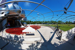 Jay Pritzker Pavilion in Chicago Royalty Free Stock Photos