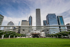 Jay Pritzker Pavilion Royalty Free Stock Photos