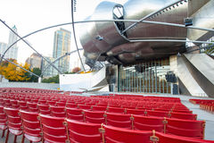 Jay Pritzker Pavilion Stock Photo