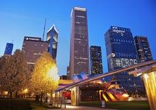 Jay Pritzker Pavilion in Millenium Park Royalty Free Stock Images