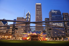 Jay Pritzker Pavilion in Millenium Park Royalty Free Stock Photography