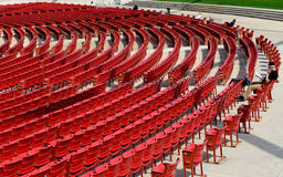 Jay Pritzker Pavilion in Millennium park, Chicago Royalty Free Stock Image