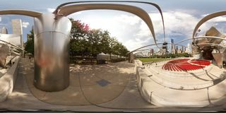 Jay Pritzker Pavilion at Millennium Park Royalty Free Stock Images