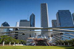 Jay Pritzker Pavilion in Millennium Park Royalty Free Stock Image