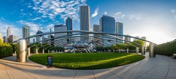 Jay Pritzker Pavilion Panorama Royalty Free Stock Photography