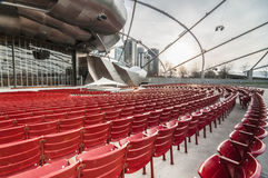 Jay Pritzker Pavillion Chicago Royalty Free Stock Photos