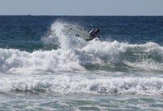 Jay Quinn - praia viril aberta do Australian fotografia de stock royalty free