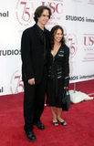 Jay Roach e Susanna Hoffs Fotografia Stock Libera da Diritti