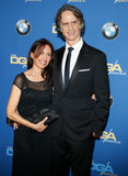 Jay Roach and Susanna Hoffs Royalty Free Stock Images
