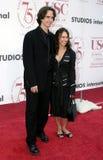 Jay Roach y Susanna Hoffs Foto de archivo libre de regalías