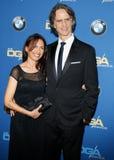 Jay Roach y Susanna Hoffs Fotografía de archivo
