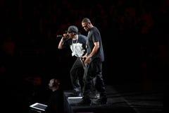 Jay-Z in Concert Stock Photo