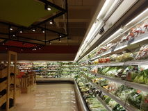 Jaya Grocer Store nova na Dinamarca: homens USJ imagem de stock royalty free