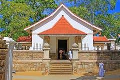 Jaya Sri Maha Bodhi, всемирное наследие ЮНЕСКО Шри-Ланки Стоковые Изображения RF