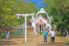 Jaya Sri Maha Bodhi, всемирное наследие ЮНЕСКО Шри-Ланки Стоковые Изображения