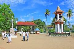 Jaya Sri Maha Bodhi, Sri Lanka UNESCO światowe dziedzictwo Obrazy Stock