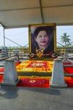 Jayalalithaa-Denkmal, Chennai, Tamil Nadu, Indien Dieses ist nahe dem MGR-Denkmal, das auf dem Jachthafenstrand errichtet wird stockfoto