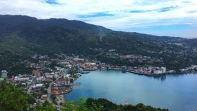 Jayapura miasto Papua Indonezja Obraz Stock