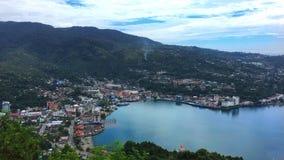 Jayapura stad Papua Indonesien fotografering för bildbyråer