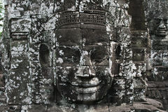 Jayavarman face Stock Photo