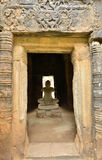 Jayavarman VII staute in phimai stone castle Stock Images