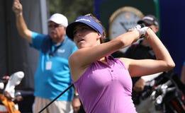 Jaye maria zieleń przy ANA inspiraci golfa turniejem 2015 Zdjęcie Stock