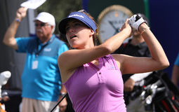 Jaye marie green at the ANA inspiration golf tournament 2015. RANCHO MIRAGE, CALIFORNIA - APRIL 01, 2015 : jaye marie Green of USA at the ANA inspiration golf royalty free stock image