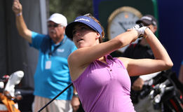 Jaye marie green at the ANA inspiration golf tournament 2015. RANCHO MIRAGE, CALIFORNIA - APRIL 01, 2015 : jaye marie Green of USA at the ANA inspiration golf stock photo