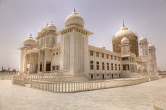 Jaygurudev Temple being refurbished in India Royalty Free Stock Images
