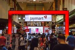 Jaymart-Stiefel Lizenzfreies Stockbild