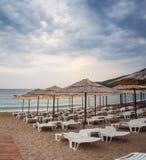 Jaz beach. Budva, Montenegro Royalty Free Stock Image